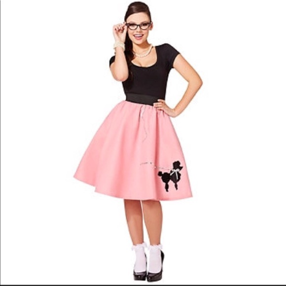 50s poodle skirt halloween costume
